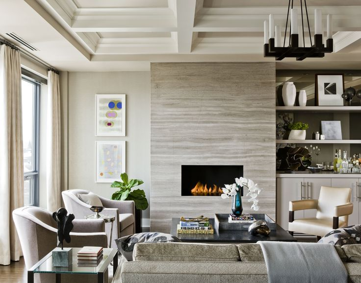 Fireplace on Pinterest | Linear Fireplace, Modern Fireplaces and ...