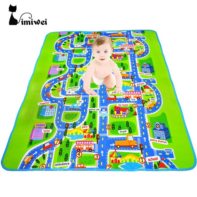 IMIWEI brand Baby Play Mats Baby Toys Developing Rug Carpet Eva Foam