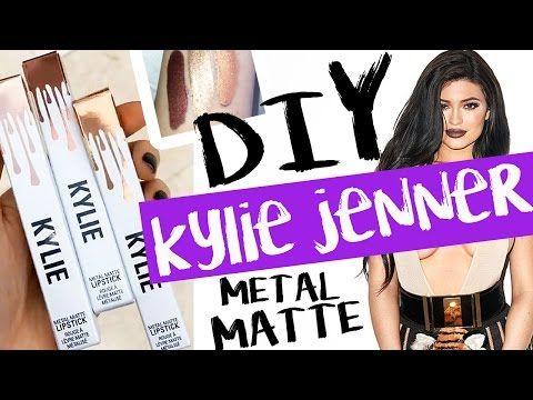 DIY Kylie Jenner METAL MATTE Lipsticks! | by tashaleelyn - YouTube