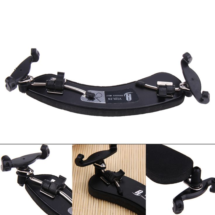 Durable High Strength 3/4-4/4 Violin Shoulder Rest Adjustable Shoulder Rest Stringed Instrument Accessories