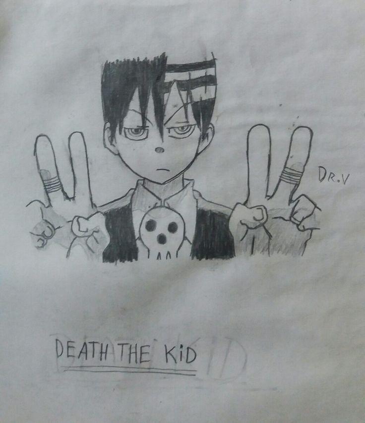 Dibujo antiguo: Death the Kid.