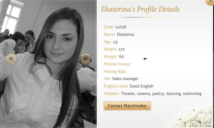 Don't become obsessed with the idea that someone out there corresponds exactly to all your tastes and preferences. In fact, you should take a deep dig into this and try to know whether it's actually the case or the other way around. #onlinedatingtips    http://www.ukraine-matchmaker.com/girls-profiles%E2%99%A5.html