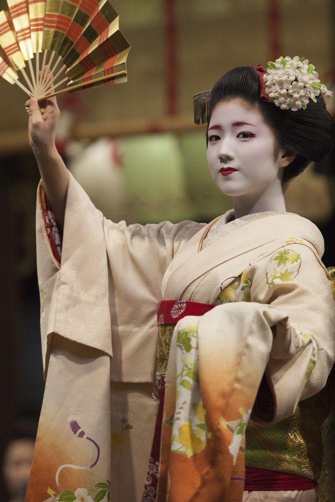 Maiko, Katuna.Kyoto. Japan. 上七軒、舞妓 勝奈さん