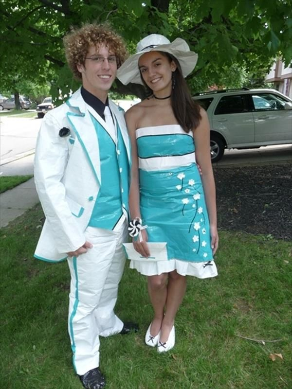 409 best Stuck at Prom images on Pinterest | Duct tape, Duck tape ...
