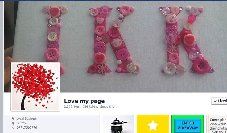 Love my page