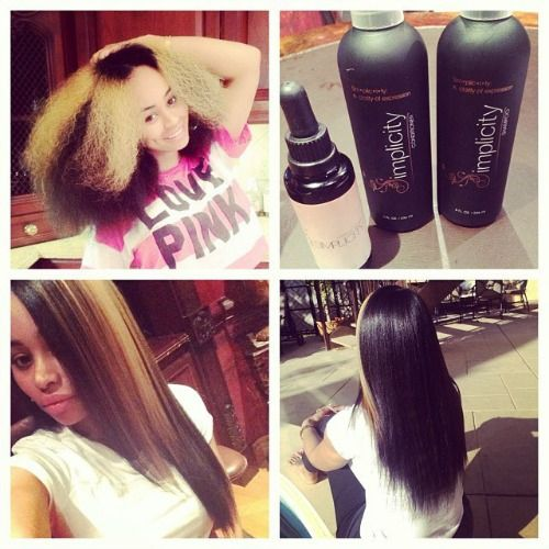 A Video Vixen and a Natural: Blac Chyna Shows Off Her Impressive Hair