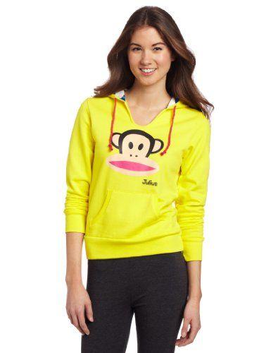 Paul Frank Women`s Julius Hoody Sweatshirt