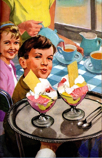 Vintage Ladybird Books 'Happy Holiday' (Peter and Jane) by LarkingAbout, via Flickr