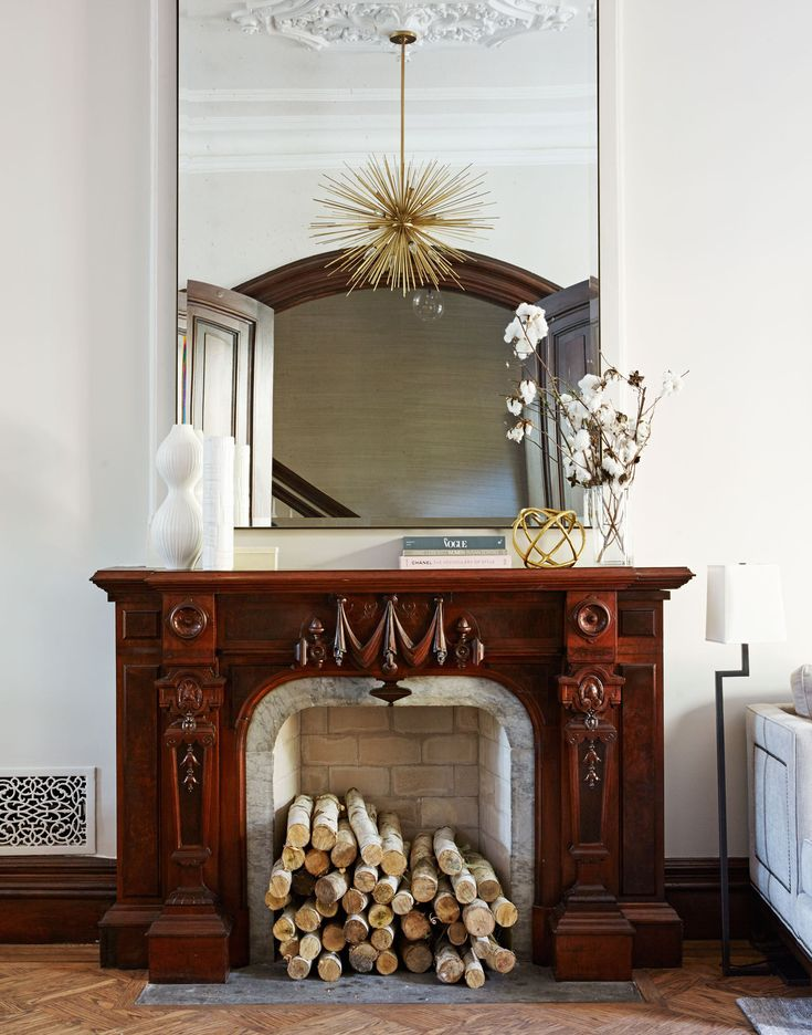 Original Fireplace 445 Best Fireplace Inspiration Images On Pinterest  Fireplaces .