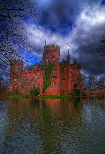 Schloss Moyland Castle in Landkreis Kleve, North Rhine-Westphalia,DE