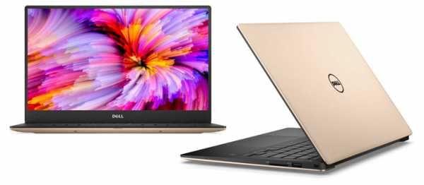 Одновременно с ноутбуком XPS 13, показанным на иллюстрации, компания Dell…