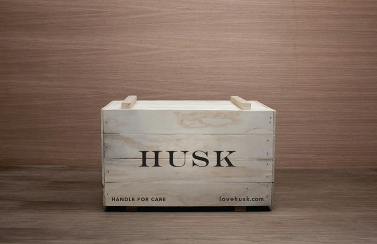 Silver: Packaging collateral for Husk