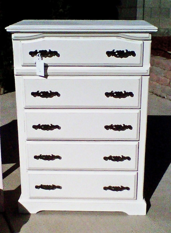 I have this exact same dresser! I can't wait to repaint it to look like this!!!