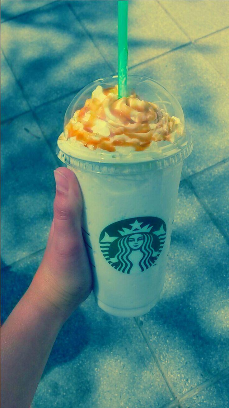 Starbucks! ! Caramel Frappéchino!! Monique♥♥
