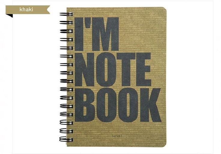 Moior Larveling Note 1 (I'm notebook) Notebook Stationary Exercise Book #Moior
