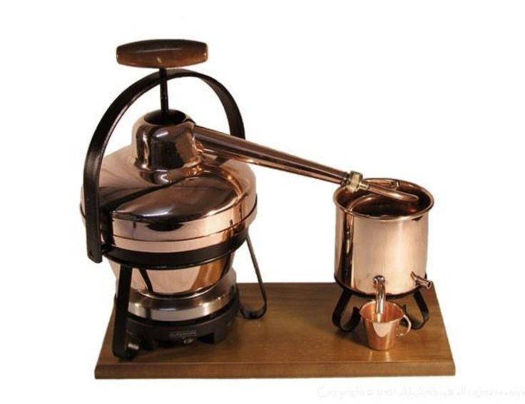 10% OFF - 1.25 Liter Distiller With Electric Hotplate