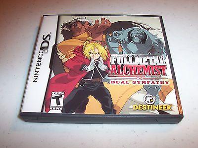 Fullmetal Alchemist Dual Sympathy Nintendo DS Lite DSi XL 3DS w/Case (No Manual)