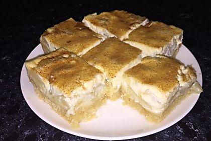 Apple Sour Cream Slice