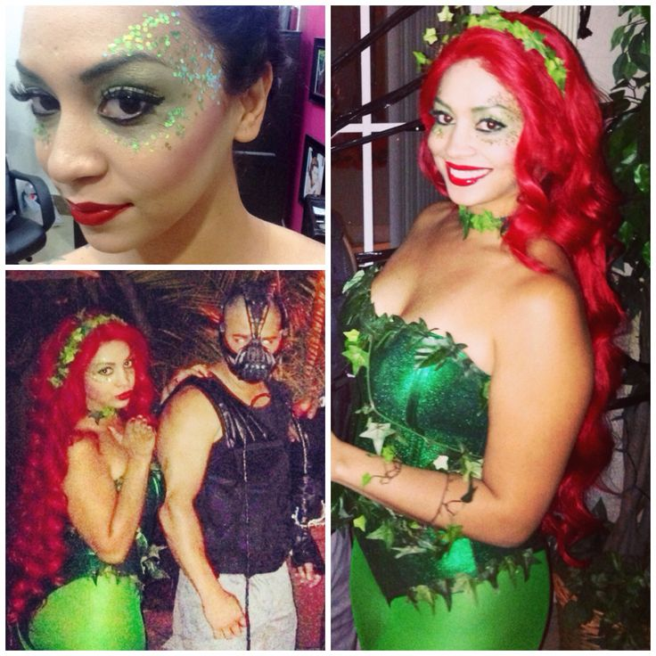 Halloween Poison Ivy And Bane Try This Pinterest