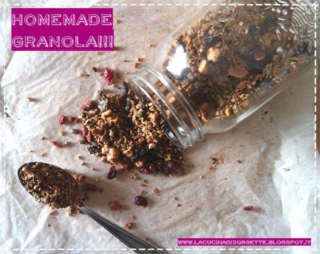 la cucina di Jorgette: Scoprire un nuovo amore ------> HOMEMADE GRANOLA!!!!!