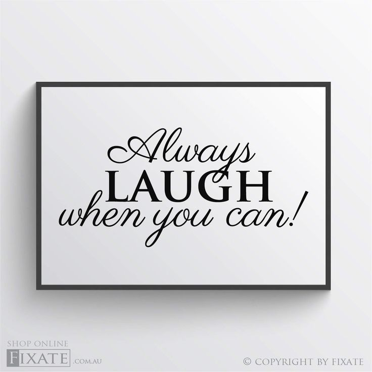Motivational decor print always laugh when you can printed design inspirational quote print motivating quote art print wall print wall decor by