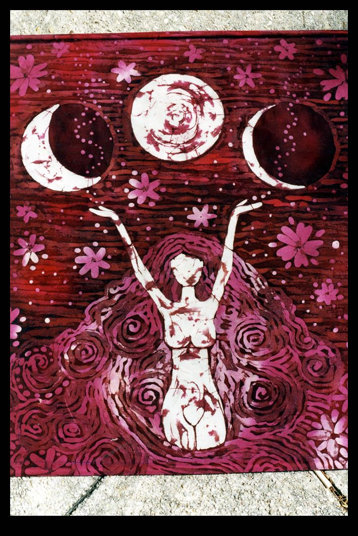 """She went straight from bell, book, and candle to calling down the moon,"" Sarah said wistfully."" / Calling Down the Moon or Drawing Down the Moon:  During the ritual, a coven's High Priestess enters a trance and requests that the Goddess or Triple Goddess, symbolized by the Moon, enter her body and speak through her. / Pictured:  Drawing Down the Moon by Reincarnation PF on DeviantArt"