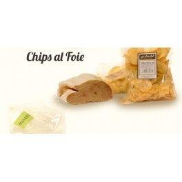 Prueba nuestras chips, ¡y sus diferentes sabores! Patatas fritas al Foie - Gastroclub Selección