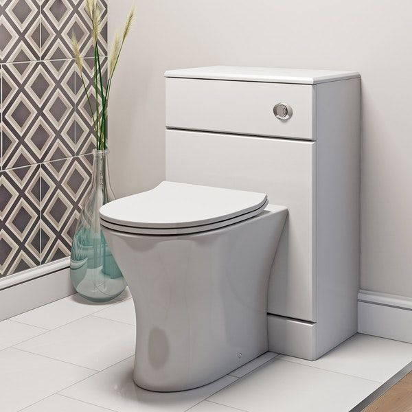 Orchard Derwent Round Compact Back To Wall Toilet With Soft Close