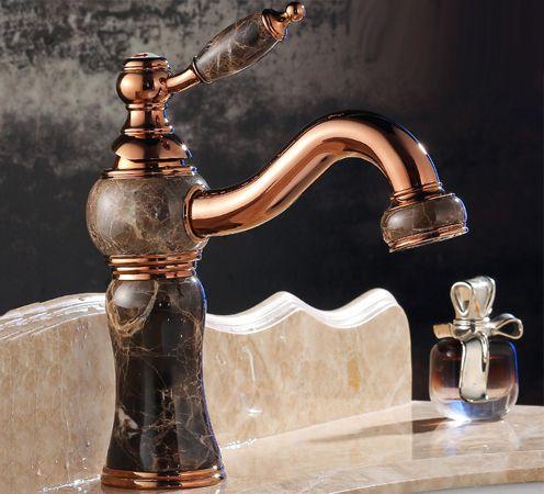 Каменные смесители для раковины в ванную и кухни