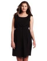 Rafaella Women's Seasonless Stretch Drape Dress