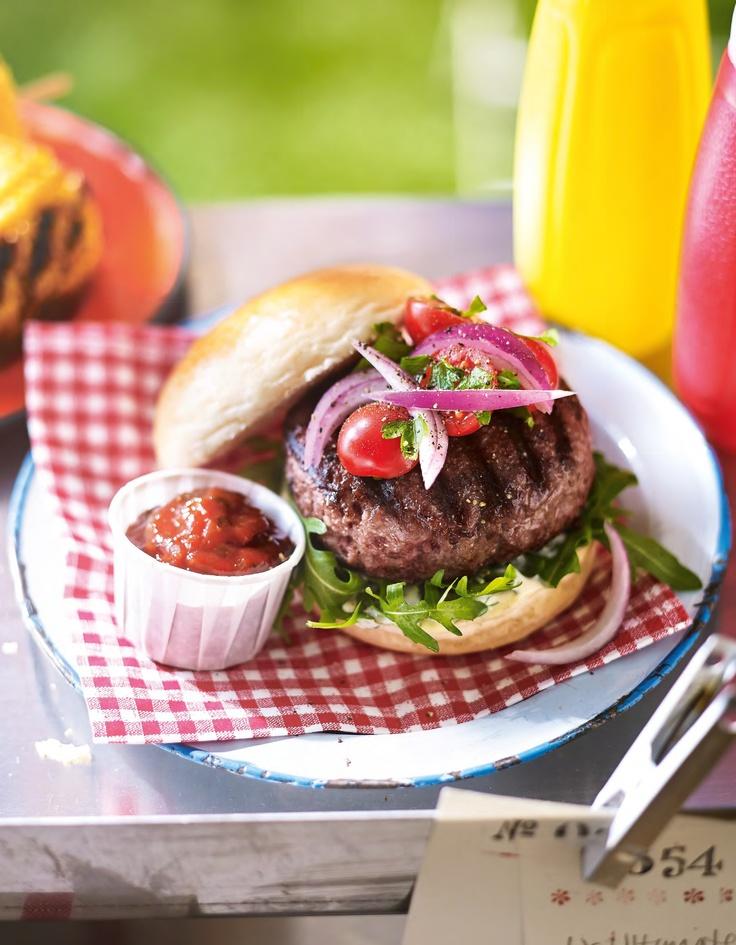 Sizzling Summer : Ultimate Steak Burger