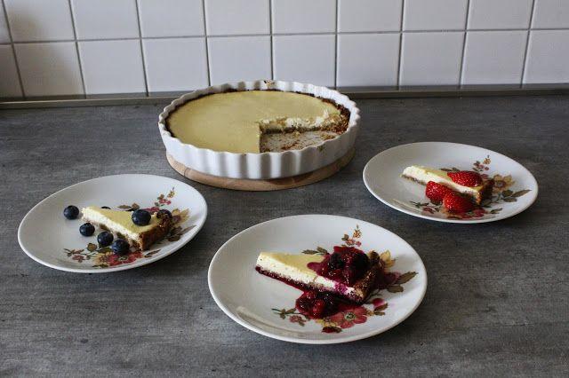 No IF - just LIFT: RECEPT: Zdravý a jednoduchý cheesecake