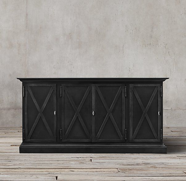 Dining Room Sideboard Option C Swedish Panel Metal X Double Check Width Of Nook To Make Certain It Will Fit