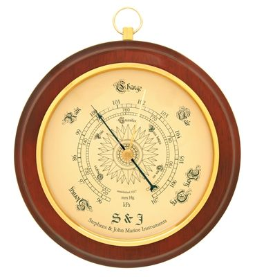 BIOS CLASSIC NAUTICAL BAROMETER at TSC (Farmer's Co-op) $15