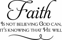 Faith is Believing: Quotes Faith, Inspiration Wall, Life Inspiration, Quotes Christian, My Life, Wall Quotes, Faith Inspiration, Quotes Sayings, Inspiration Quotes