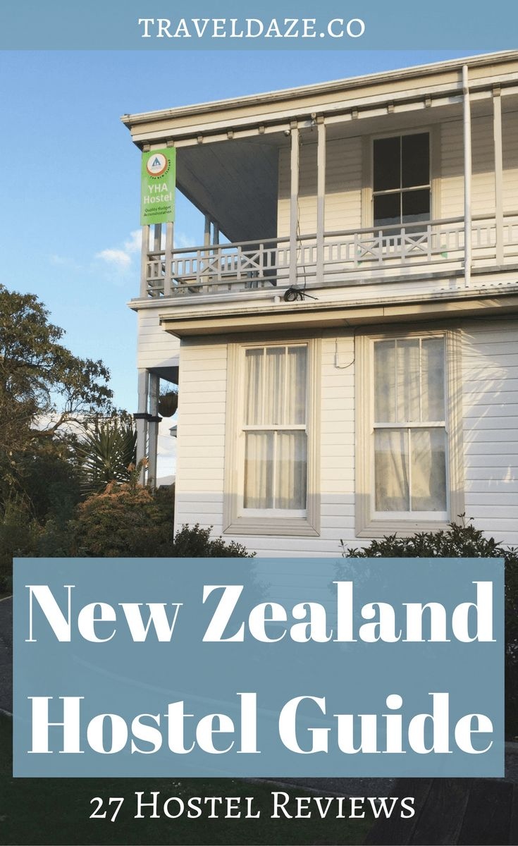 I spent a year traveling in New Zealand, and I stayed in over 20 hostels. I'm reviewing & recommending the best hostels in New Zealand.