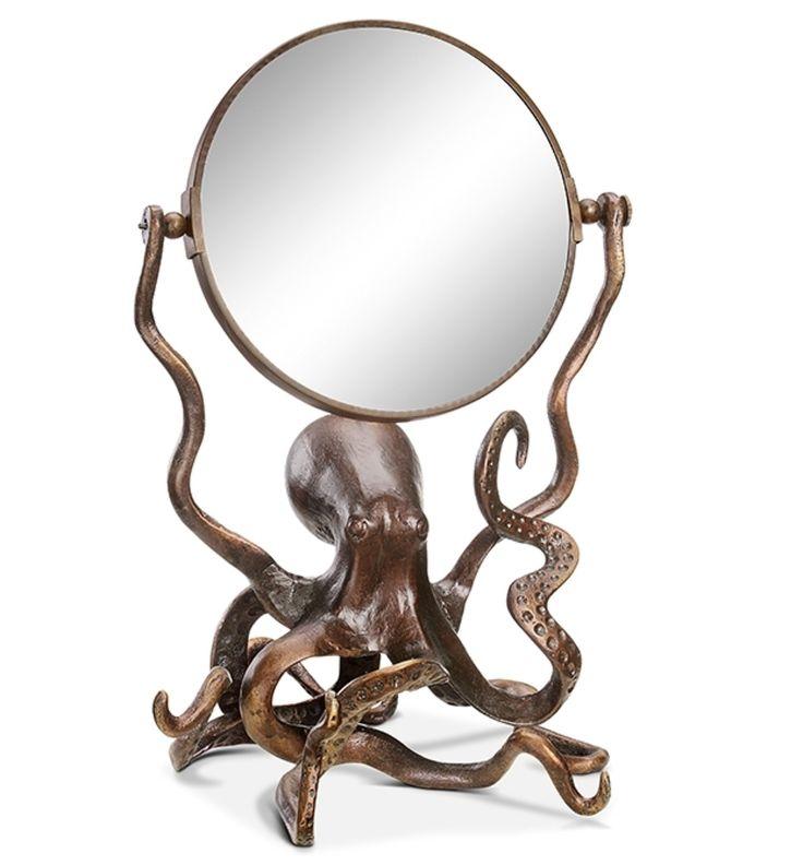 Octopus Tabletop Mirror