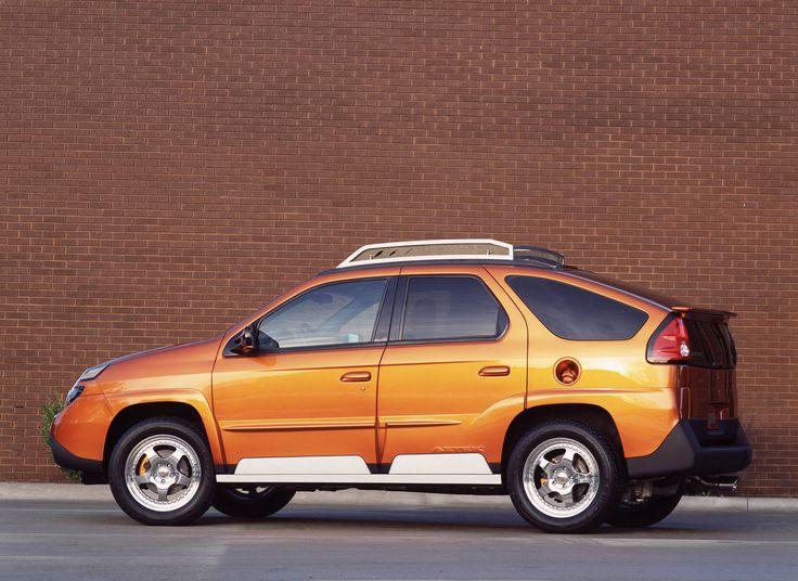 Pontiac Aztek - O carro foi considerado uma das 50 piores invenções de todos os tempos