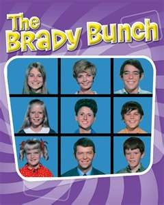 The Brady Bunch.