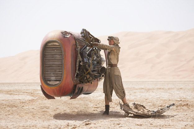 "30. At one point, Rey warns BB-8 to ""stay off Kelvin Ridge."" Kelvin was the name of director J.J. Abrams' grandfather, and he makes it a point to sneak a Kelvin reference into most of his work. 