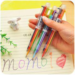 Фабрика прямые оптовые пластиковые шариковая ручка нажимается цвет масла шариковой ручкой офис подарочные ручки