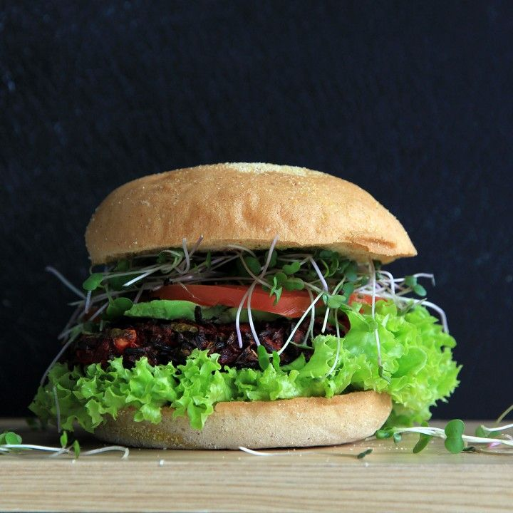#beetroot burger #Beach House #Recipes #healthy #food