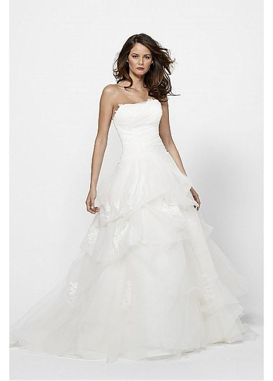 GORGEOUS ORGANZA SATIN A-LINE SWEETHEART NECKLINE WEDDING DRESS LACE BRIDESMAID PARTY COCKTAIL GOWN