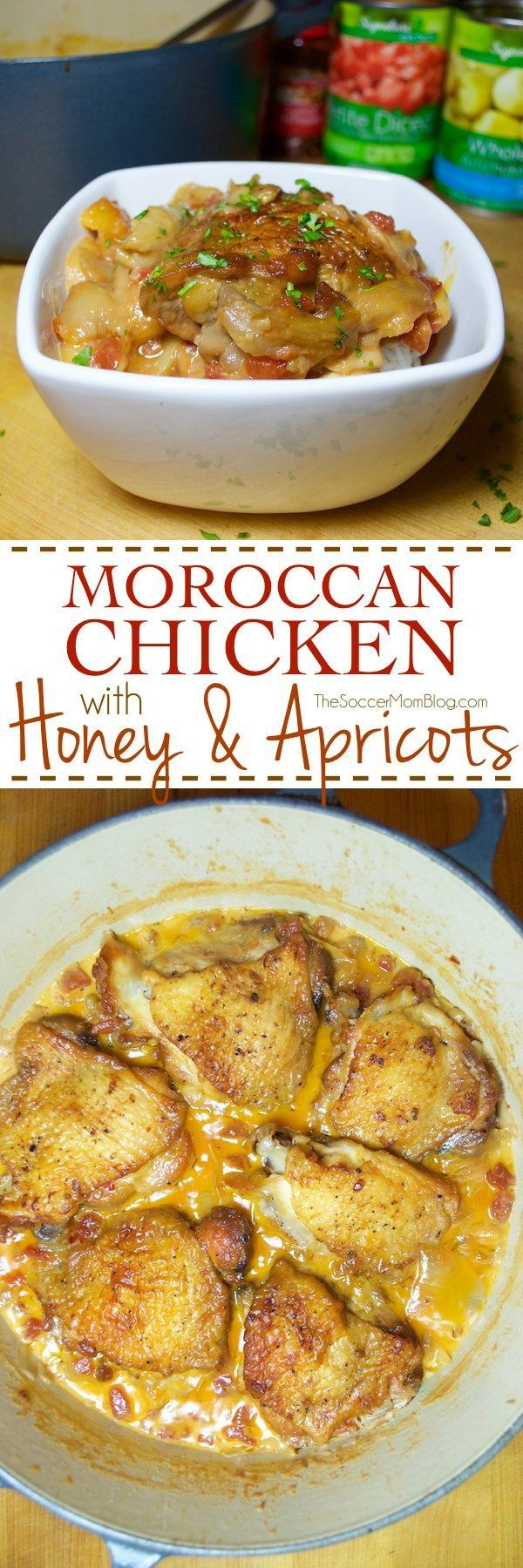 Sooo amazingly decadent -- it's now a staple in our dinner rotation! Rich Moroccan Chicken stew is the perfect mix of sweet, savory, & spicy! Recreate a traditional favorite at home with this surprisingly easy recipe.