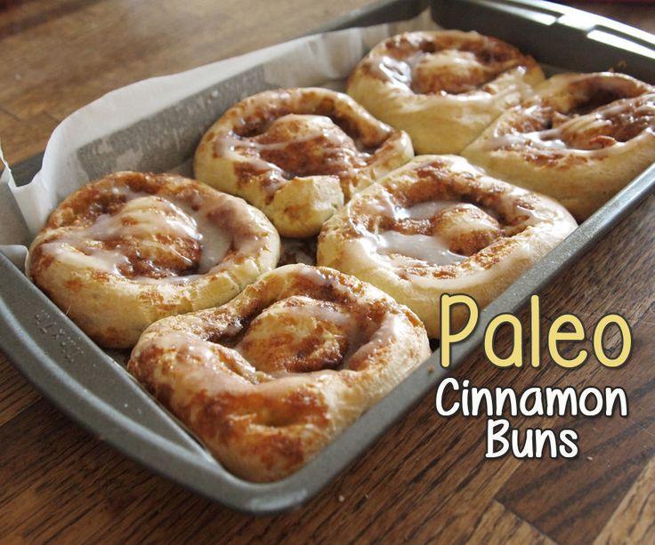 Paleo Cinnamon Rolls Recipe