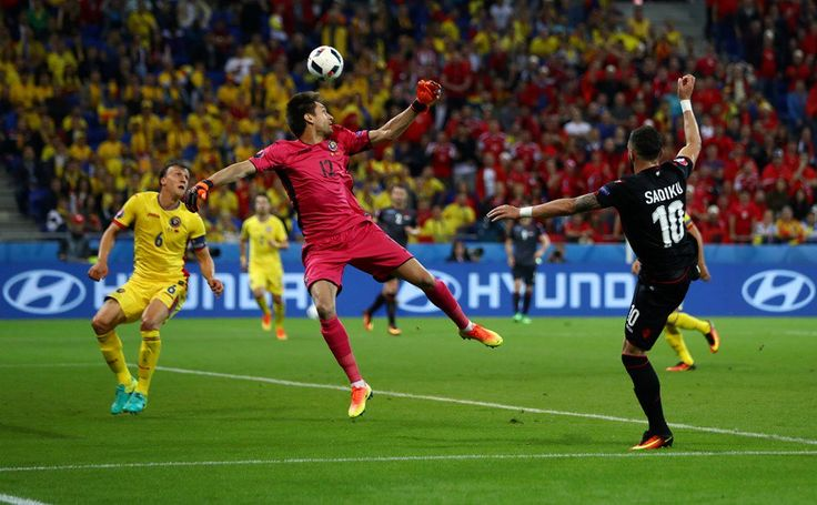 A goal Albania fans will remember for a long time. Their first at a major tournament