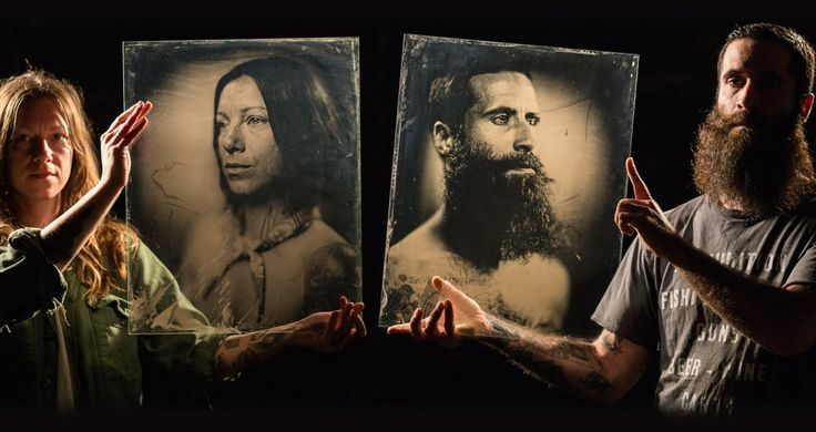 16 Magnificent Photographs Taken With 160 Year Old Camera And Implanted On Glass