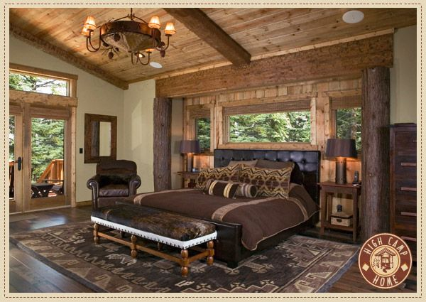 Timber Lodge Project - View more Design Projects at http://www.highcamphome.com/interior-design/