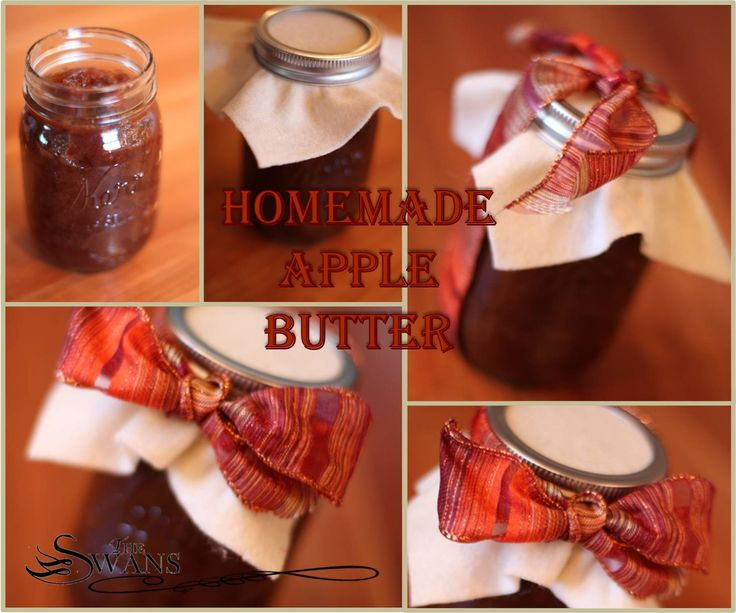 Homemade Apple Butter: Food Gifts, Homemade Apples Butter, Homemade Food, Delicious Dips, Fabrics Swatches, Apple Butter, Decoration Apples Butter Jars, Favorite Recipes, Masons Jars