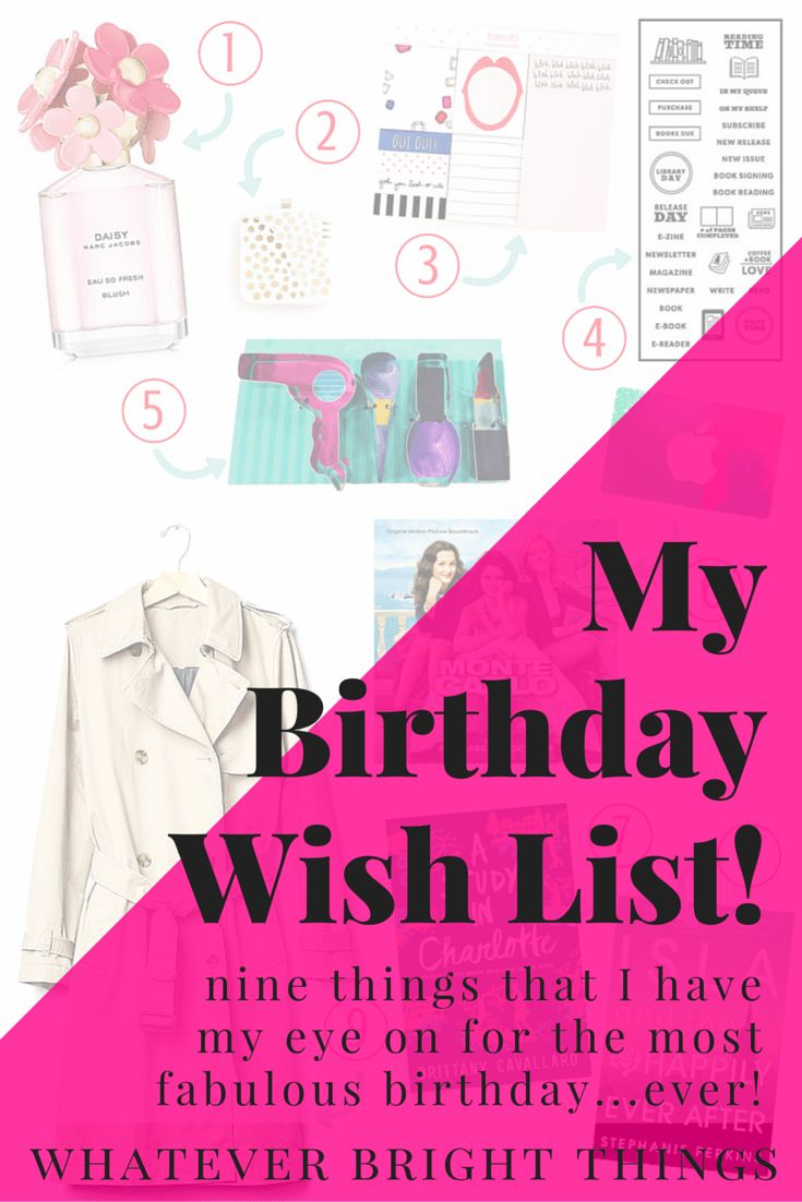 Whether you have a spring birthday or are just looking to treat yo'self sometime soon, I've got a list of the cutest things to shop for right now. Click through to see which birthday gifts I have my eye on!